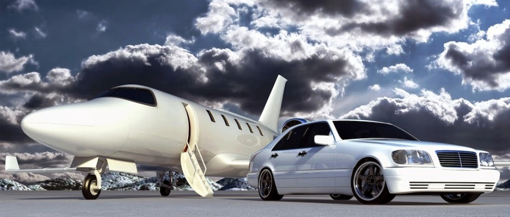 luxury car hire service