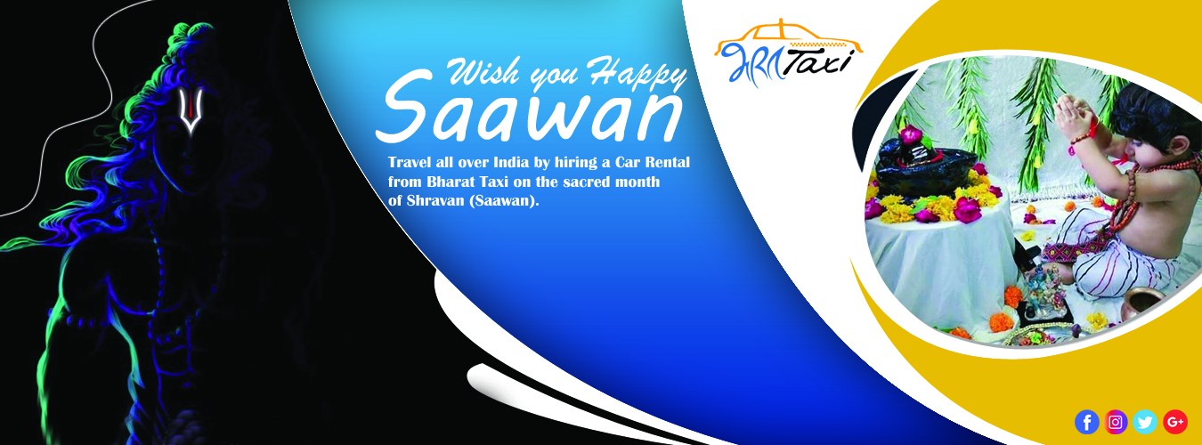 Car Rentals on Sawan Month- Bharat Taxi