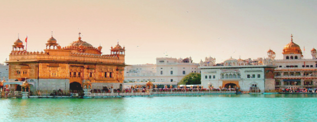 Golden Temple with taxi services in Amritsar
