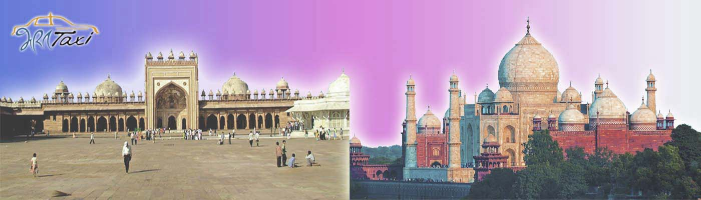 Agra Sightseeing Bharat Taxi