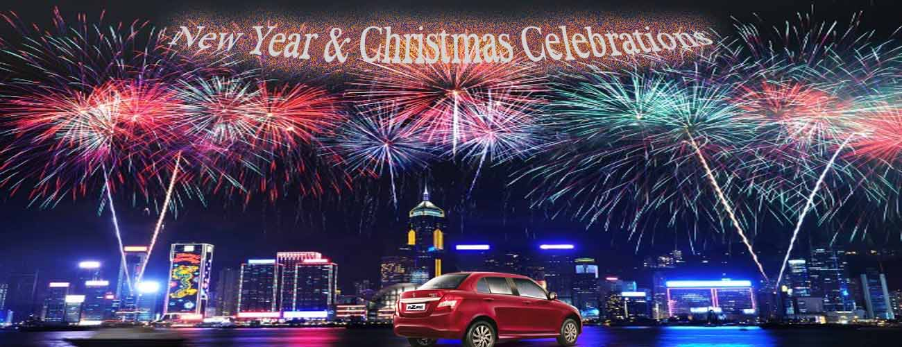 New Year Celebration With Car Rentals