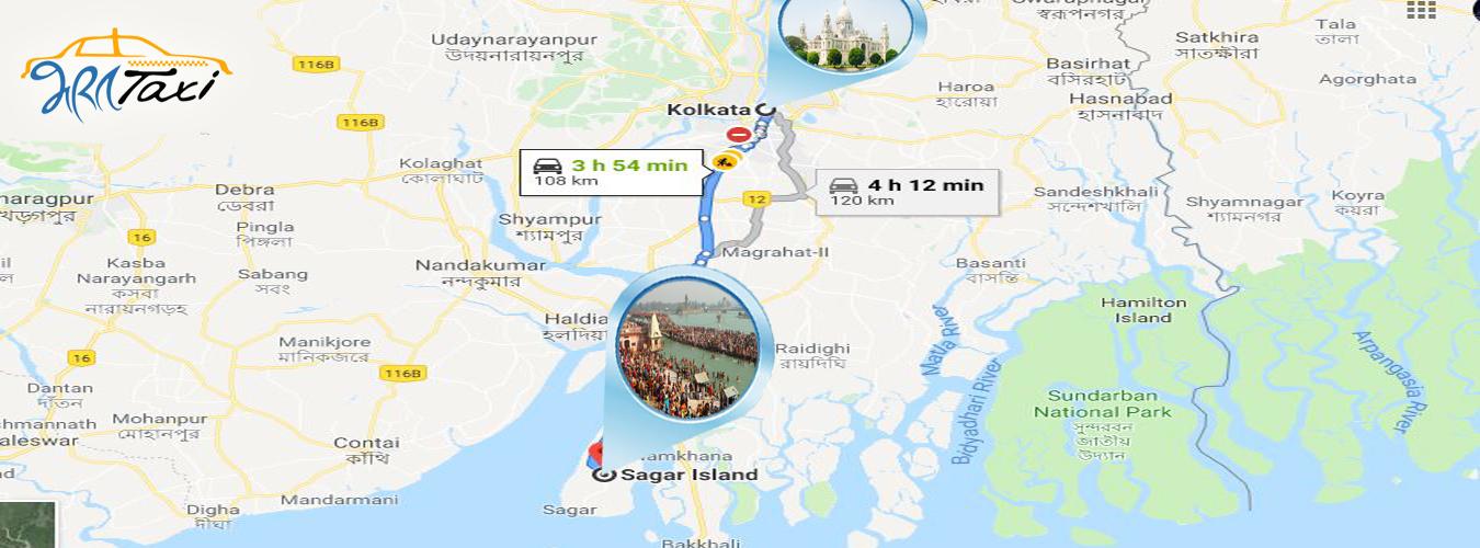 Kolkata to Gangasagar Trip - Bharat Taxi