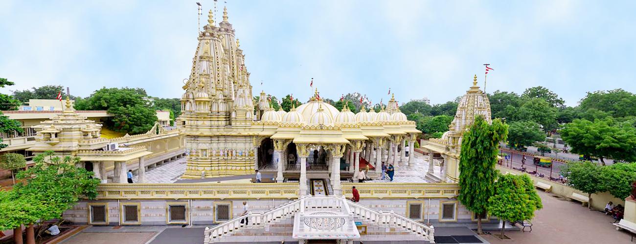 Swaminarayan Temple Ahmedabad - Bharat Taxi