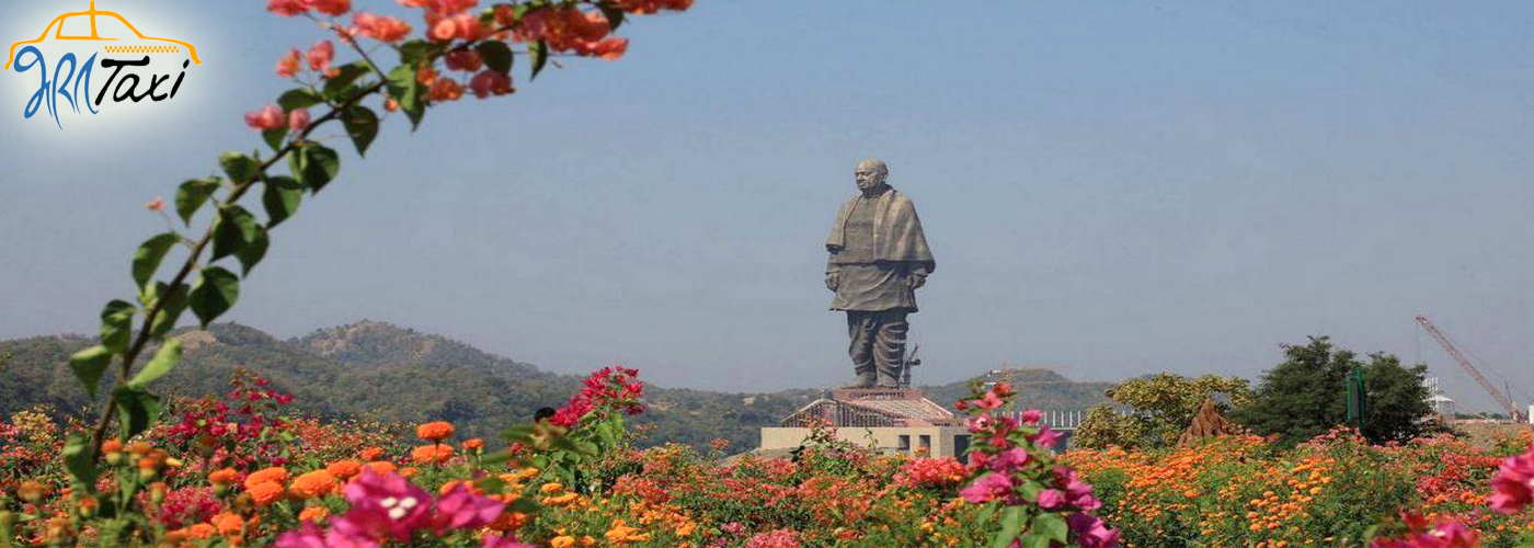 Statue of Unity - Valley of Flowers - Bharat Taxi
