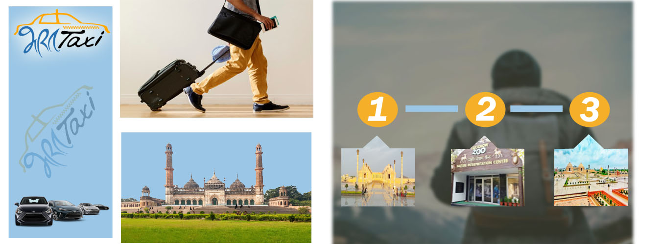 Car on Rent in Lucknow to Explore Scenic Points in the City - Bharat Taxi