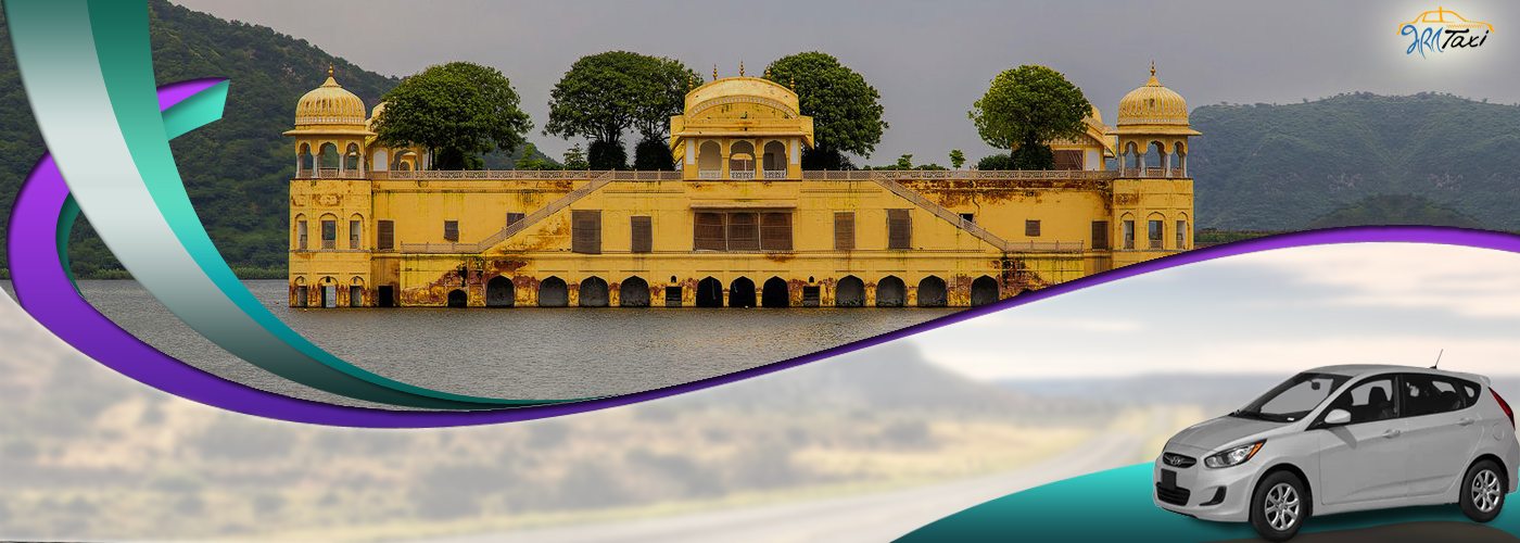 Jaipur Sightseeing Taxi Service for Visiting Local Places- Jal Mahal Jaipur