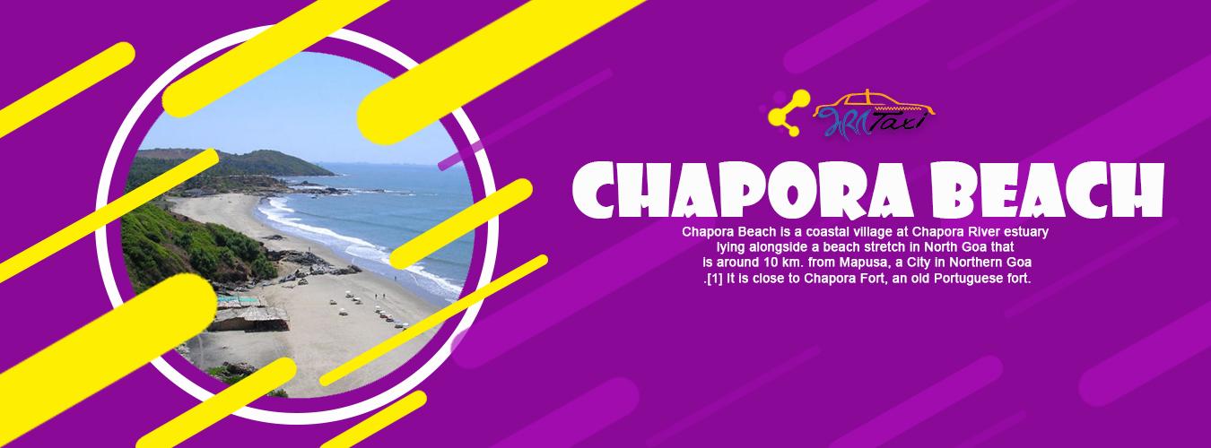 Chapora Beach- Bharat Taxi